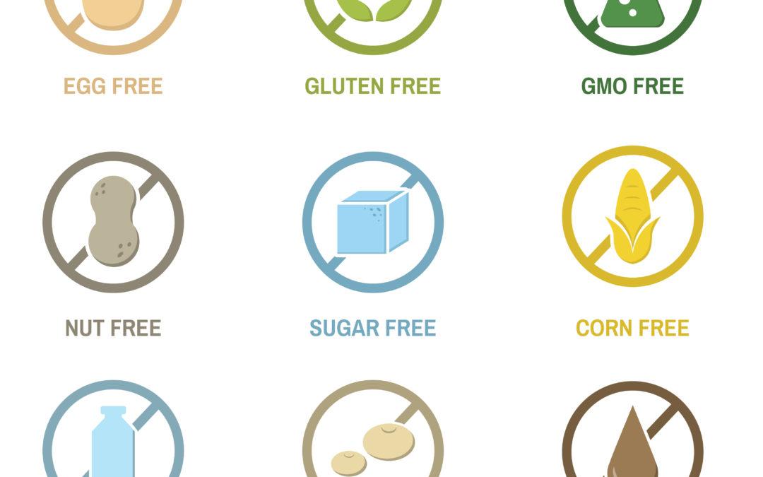 Alergias e intolerancias a los alimentos.