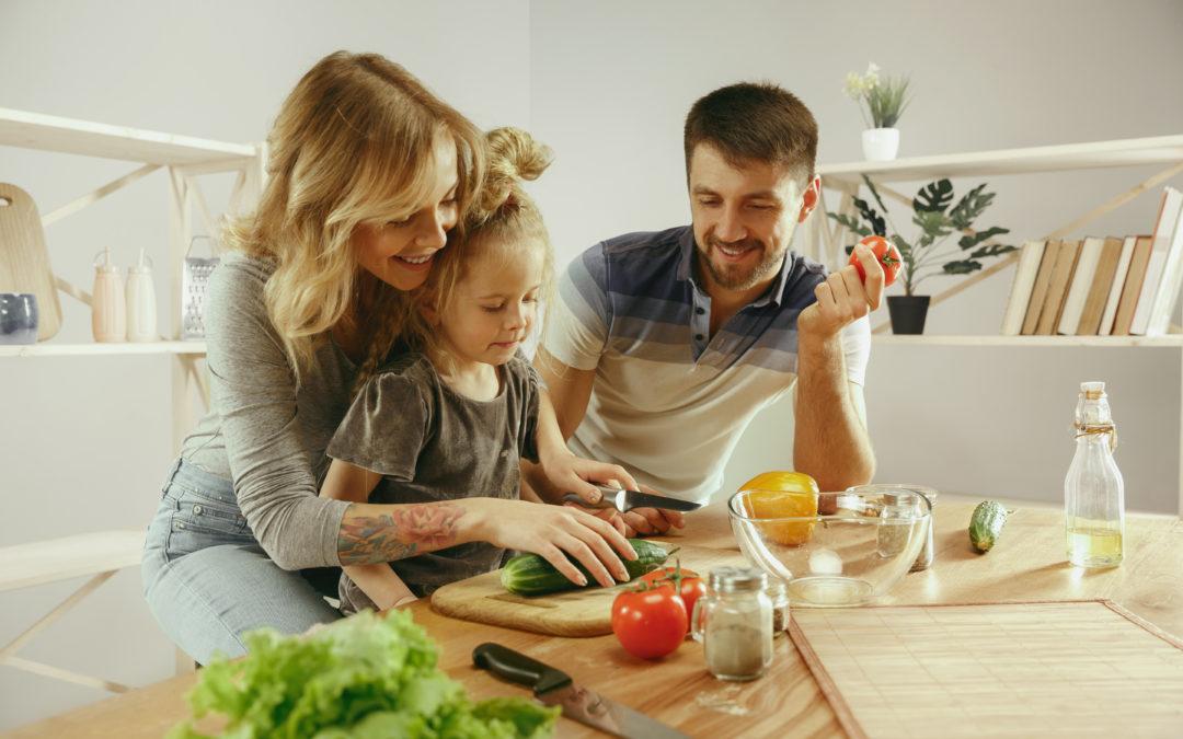 Influir en los hábitos alimentarios de los niños